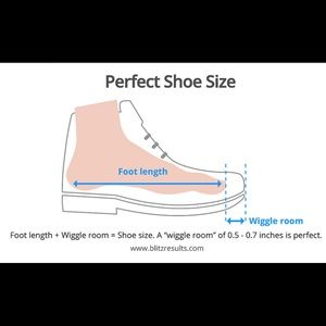 Your Convenience: Shoe Sizing Charts